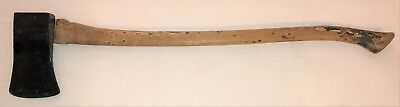 """Original WWII US Army Willys MB Ford GPW Jeep True Temper Axe 36"""", 4 LB"""