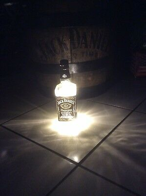 Bar Jack Daniels Flasche Lampe mit LED Batterie Bar Lampe