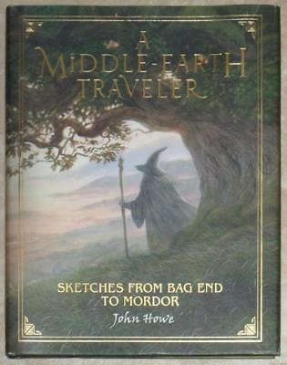 A MIDDLE-EARTH TRAVELER ~ SKETCHES FROM BAG END TO MORDOR ~ JOHN HOWE ~ 1st PRNT
