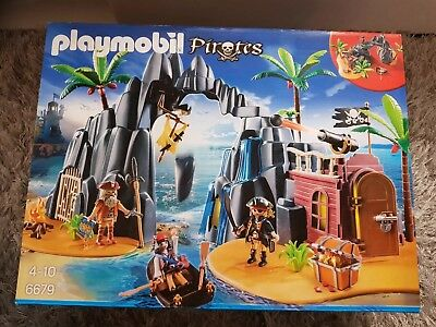 Playmobil 6679 Piraten Schatzinsel