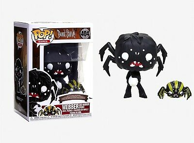 Funko Pop Games: Don't Starve - Webber and Warrior Spider Vinyl Figures #34688