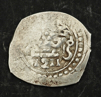 1796, Morocco, Moulay Suleyman. Hammered Silver Dirham Coin. VF+