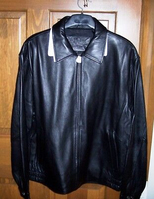 New Made Exclusively For Mercury Marauder Size Extra Large Xl Leather Jacket!