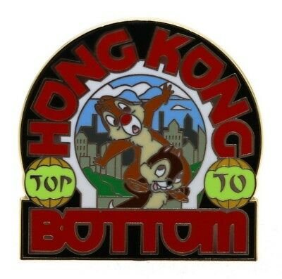 Disney ABD Hong Kong Top To Bottom Chip 'n' Dale Pin