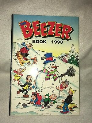 "Vintage "" The Beezer Book "" Annual Dated 1993 Unclipped"