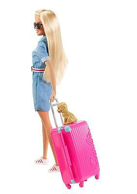 Barbie Travel Doll with Accessories and Puppy DREAMHOUSE ADVENTURES