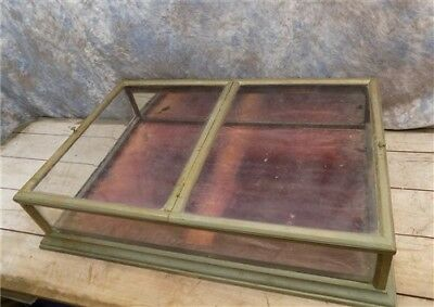 1862 WH Core Nickel Plated Glass Store Showcase Counter Display Civil War