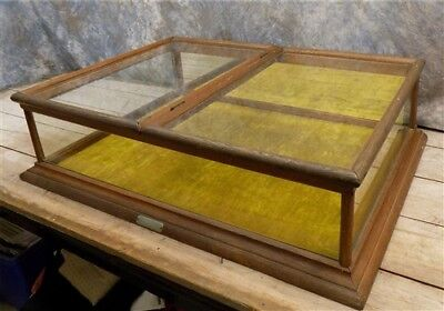36 Showcase Pauk Sons Country Store Display Case Cabinet Counter Jewelry Vintage