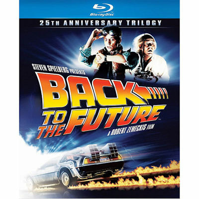Back to the Future: 25th Anniversary Trilogy Blu-ray 3-Disc Set