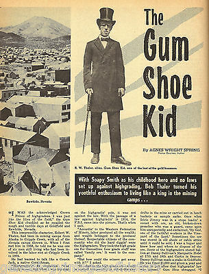 Baby Doe And The Gum Shoe Kid R. W. Thaler + Genealogy