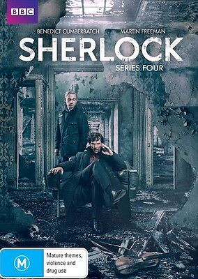 SHERLOCK Series : Season 4 : NEW DVD