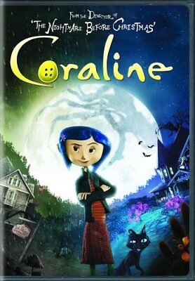 CORALINE New Sealed DVD