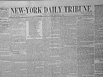 Golden Chronicles - New California Expeditions & Mining Parties  1849 Newspaper