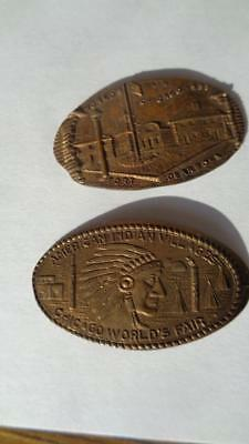 1933 – 34 Chicago World's Fair Souvenir Bracelet A Century of Progress Cityscape