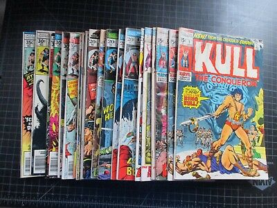 Marvel Kull The Conqueror #1X2,2,3X2,5,6X2,8-20,23,24