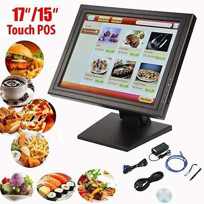 Touch Screen Monitor Restaurant Cafe Pizza Fish Chips Takeaway Cash Register AU