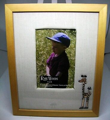 Embroidered Giraffe Picture Frame -