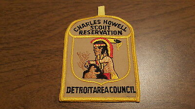 BSA, 1950's Charles Howell Scout Reservation Patch, Detroit Area Council