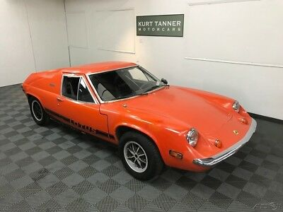 1973 Lotus Europa Twin Cam MATCHING #'S ENGINE. EXCELLENT CAR FOR IMPROVEMENT 1972 LOTUS EUROPA TWIN CAM. MATCHING #'S ENGINE. EXCELLENT CAR FOR IMPROVEMENT