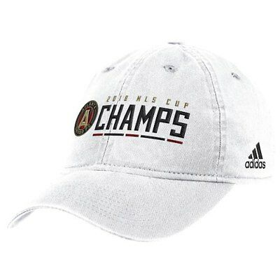 8a455798e5f5b Atlanta United FC adidas 2018 MLS Cup Champions Slouch Adjustable Hat -  White