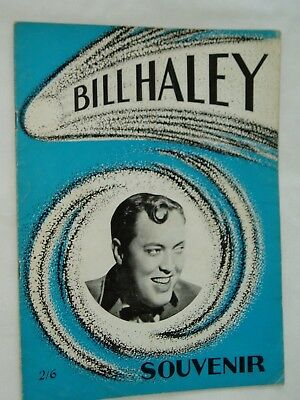 BILL HALEY & THE COMETS.............UK  PROGRAMME..1967 tour