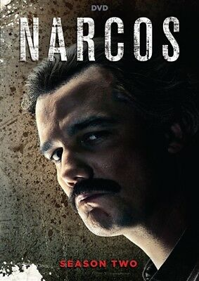 NARCOS TV SERIES COMPLETE SEASON TWO 2 New Sealed DVD
