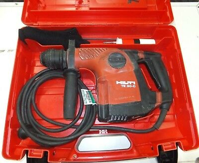 Hilti TE 30c SDS Chuck Drill and Breaker 4.2kg 3 mode Combi  corded Hammer drill