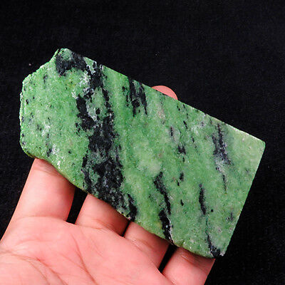 737.2Ct 100% Natural Red Green Bi Color Ruby In Zoisite Rough Specimen YGB77