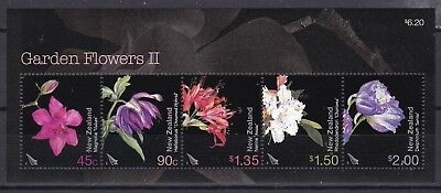 NEW ZEALAND 2004 FLOWERS S/S (ref 30) MINT NEVER HINGED