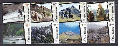 NEW ZEALAND 2004 LORD OF THE RINGS BLOCK X 8 (ref 32) MINT NEVER HINGED