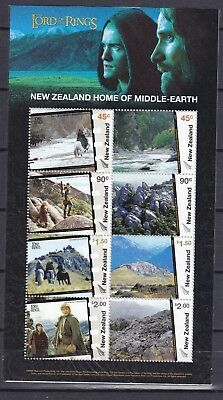 NEW ZEALAND 2004 LORD OF THE RINGS S/S (ref 33) MINT NEVER HINGED