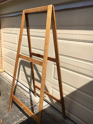 Large Wooden Artists Art Painting Easel A Frame
