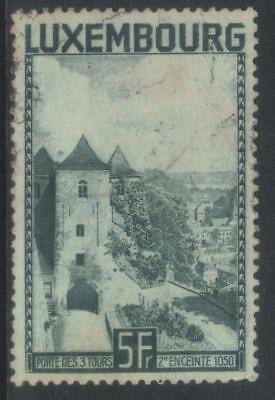 Luxembourg 1934 Gateway Of Three Towers Used