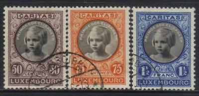 Luxembourg 1927 Child Welfare 3 Used Values