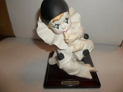 Florence Giuseppe Armani Small Pierrot Sucking His Thumb Figurine