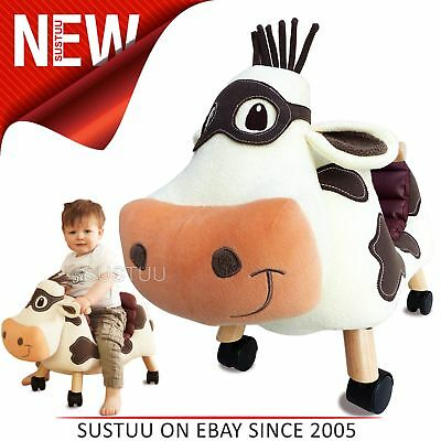 Little Bird Told Me│Moobert Cow-Childs Fun & Friendly Ride On│With Soft Fabrics