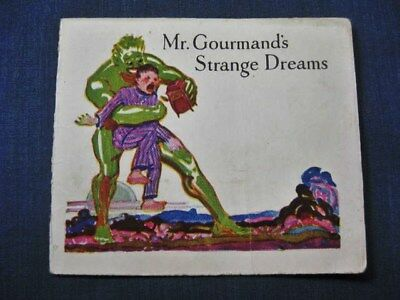 Mr Gourmand Strange Dreams Jello Folder 1920