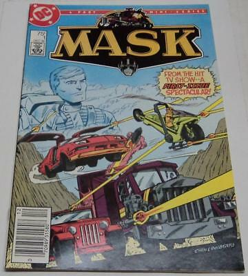 MASK #1 (DC Comics 1985) Based on animated TV show & toy franchise (FN+) RARE