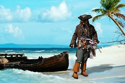 Authentic Captain Jack Sparrow Costume