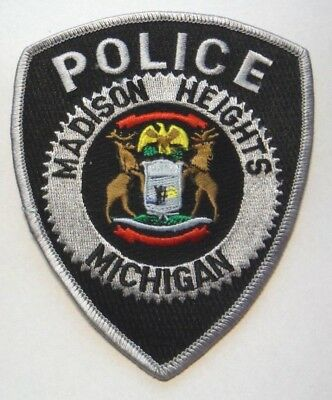 Madison Heights  Michigan Police Patch Unused