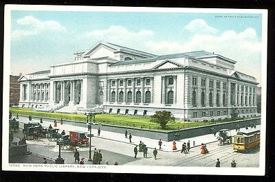 Detroit Publishing 12065 New York City Public Library (not mailed (pre20(DP522*
