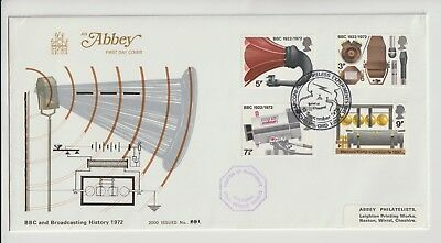 Gb Stamps First Day Cover 1972 Bbc Marconi Abbey Rares Collection