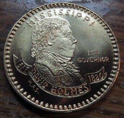 1967 Mississippi Sesquicentennial Token - MS Miss. 150th Anniversary