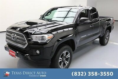 2017 Toyota Tacoma 4x4 TRD Sport 4dr Access Cab 6.1 ft LB 6A Texas Direct Auto 2017 4x4 TRD Sport 4dr Access Cab 6.1 ft LB 6A Used Automatic