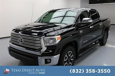 2017 Toyota Tundra Limited Texas Direct Auto 2017 Limited Used 5.7L V8 32V Automatic RWD Pickup Truck