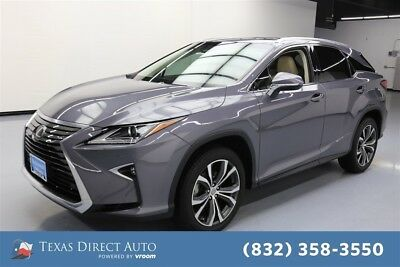 2017 Lexus RX 4dr SUV Texas Direct Auto 2017 4dr SUV Used 3.5L V6 24V Automatic FWD SUV Moonroof