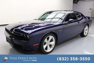 2016 Dodge Challenger R/T Plus Texas Direct Auto 2016 R/T Plus Used 5.7L V8 16V Automatic RWD Coupe Premium