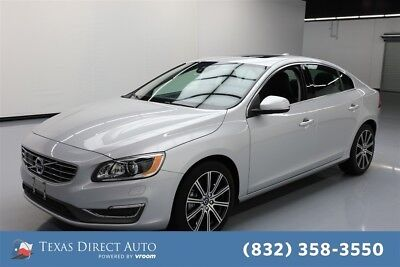 2018 Volvo S60 Inscription Platinum Texas Direct Auto 2018 Inscription Platinum Used Turbo 2L I4 16V Automatic AWD