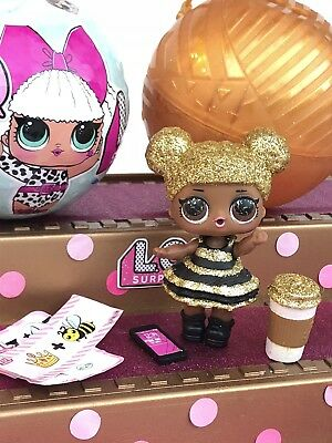 LOL Surprise QUEEN BEE RARE Doll VHTF SERIES ONE in Resealed Ball Brand NEW