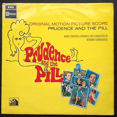 PRUDENCE AND THE PILL LP Rare Film Soundtrack OST Bernard Ebbinghouse 1968 Niven
